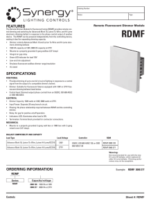 RDMF - Acuity Brands