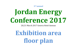 3rd annual Jordan Energy Conference 2017