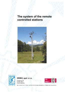 The system of the remote controlled stations