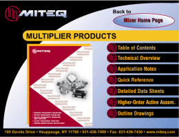 multiplier products