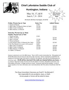 Chief Lafontaine Saddle Club of Huntington, Indiana May 16
