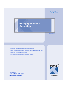 Managing Data Center Connectivity