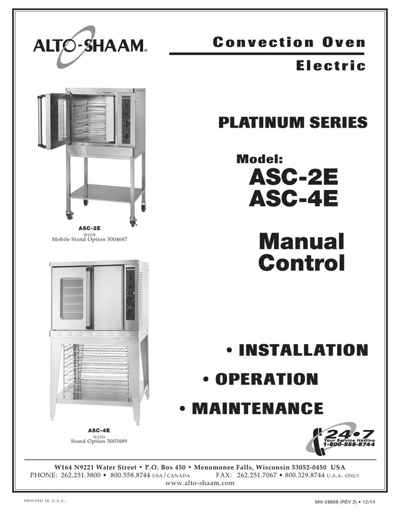 Asc 2e Alto Shaam Wiring Diagram