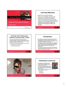 Learning Objectives Introduction Introduction continued…