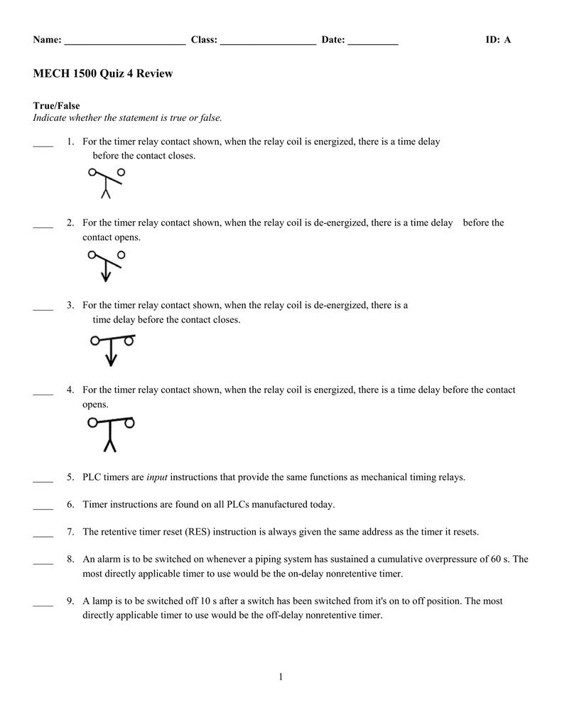 ExamView - Quiz 4 Review tst