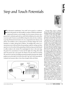 Step and Touch Potentials