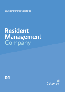 Resident Management Company - Gateway Property Management