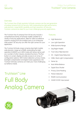Full Body Analog Camera