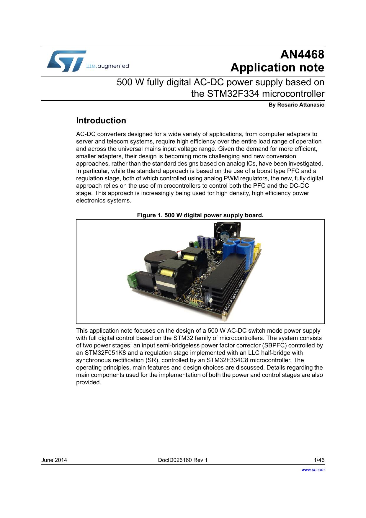 AN4468 - STMicroelectronics
