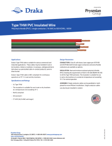 Type THW PVC Insulated Wire