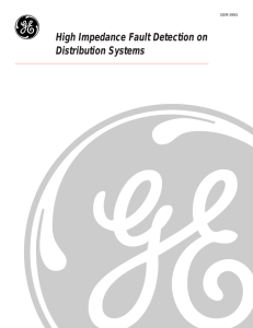 High Impedance Fault Detection on Distribution Systems