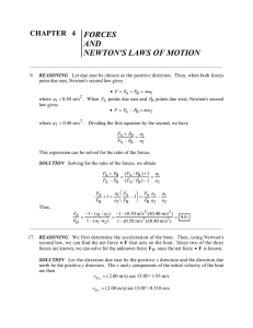 and newton`s laws of motion
