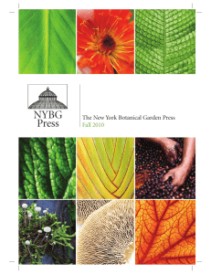 NYBG Press - New York Botanical Garden