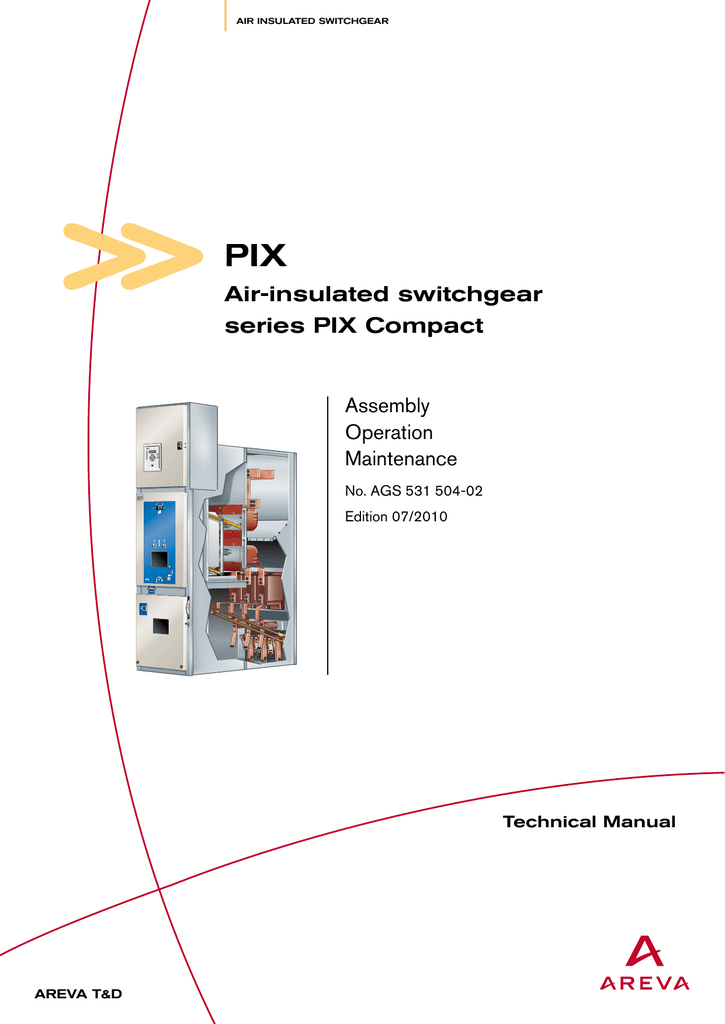 Air-insulated switchgear series PIX Compact