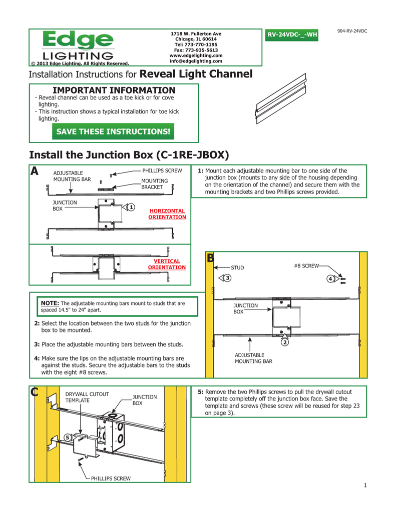 Wiring A Light Using A Junction Box
