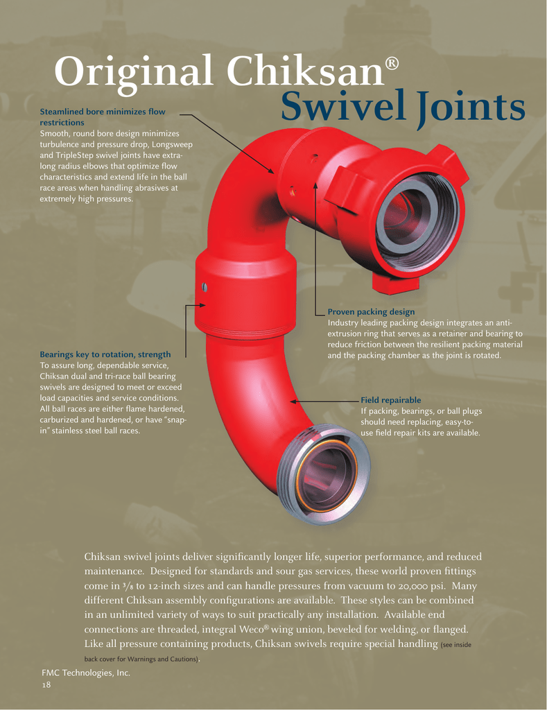 Swivel Joints Original Chiksan - Mid
