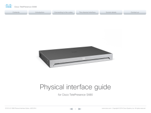 Physical interface guide