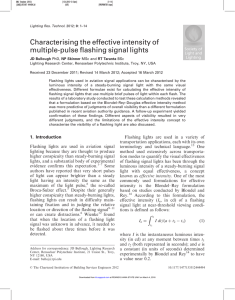 Characterising the effective intensity of multiple-pulse