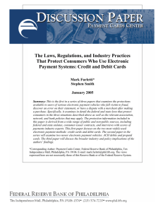 The Laws, Regulations, and Industry Practices That Protect