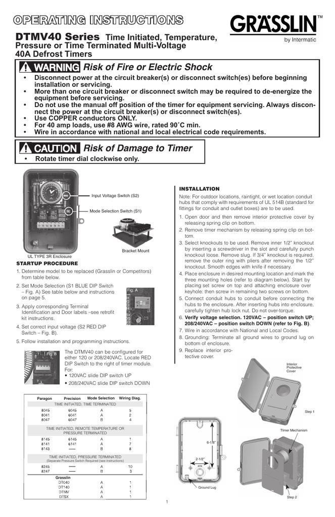 Dtmv40 Intermatic