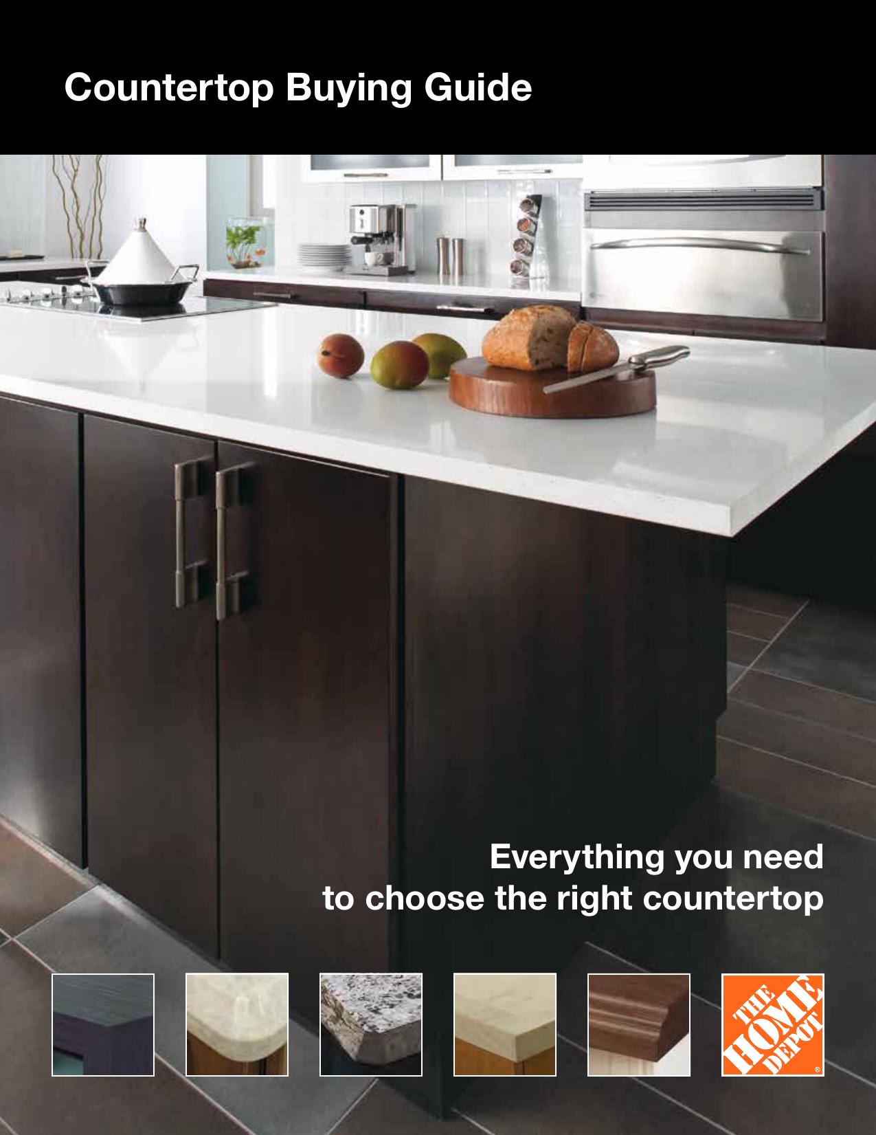 Countertop Buying Guide
