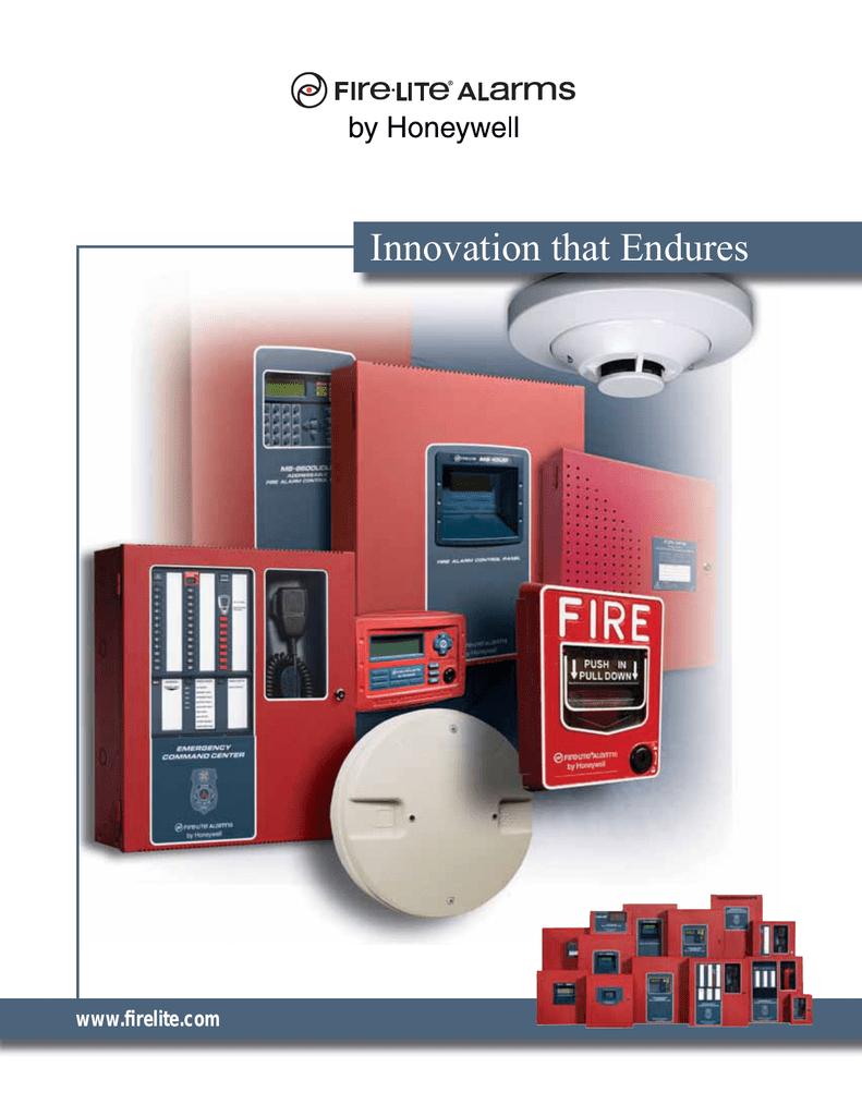 FL4 Fire-Lite Family Brochure - Fire