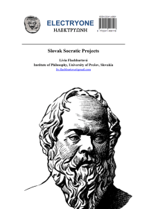 slovak socratic projects