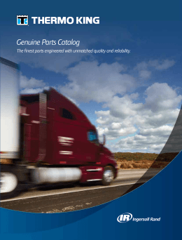 Genuine Parts Catalog - Amarillo Thermo King