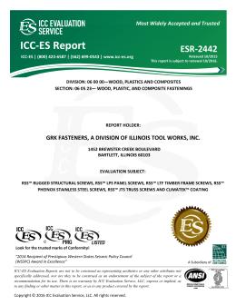 ESR-2442 - ICC-ES