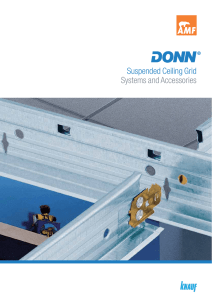 Suspended Ceiling Grid Systems and Accessories