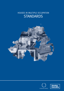 Houses in Multiple Occupation (HMOs) - Standards