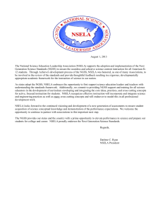 National Science Education Leadership Association