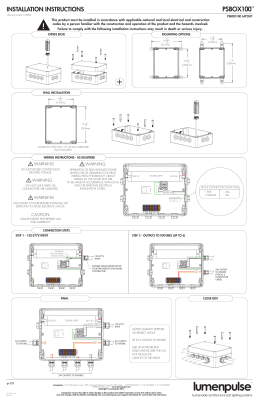 Installation Instructions PDF