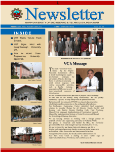 News Letter April - June - 2006