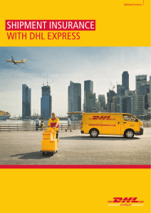 SHIPMENT INSURANCE WITH DHL EXPRESS
