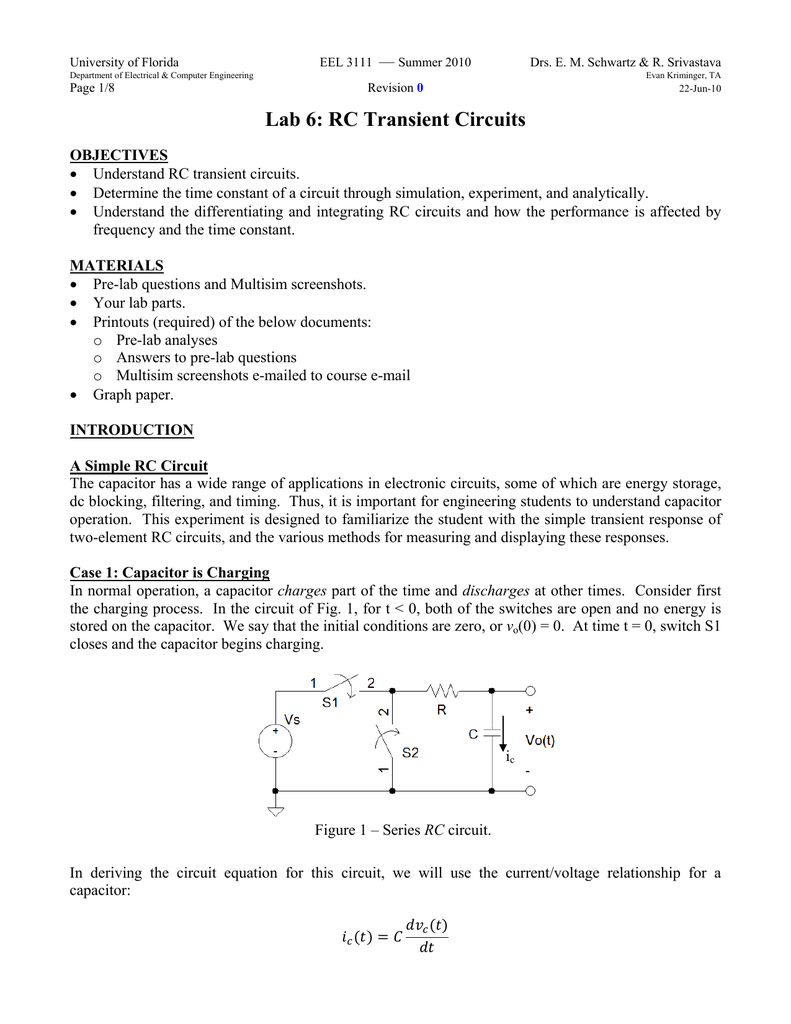 Series Rlc Circuit Matlab Code Square Wave Fourier Coefficients And Circuitlab Bandstop Filter Charging Capacitor Equation Derivation Tessshebaylo