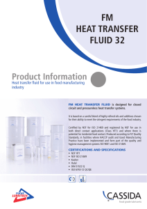 fm heat transfer fluid 32