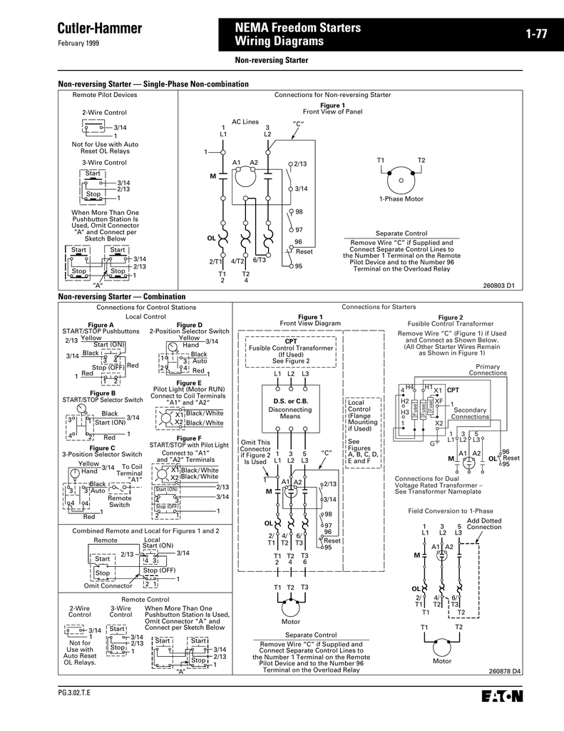 Wiring Diagrams - EMSCO, The Motor Control Shop on