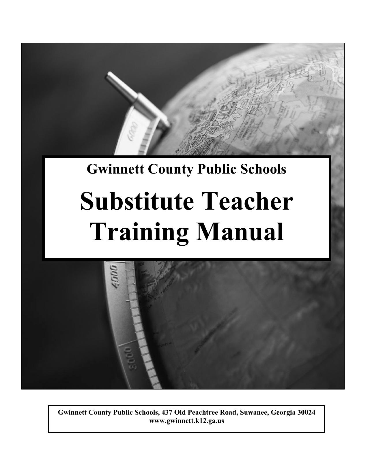 Gwinnett County Public Schools Substitute Teacher Training