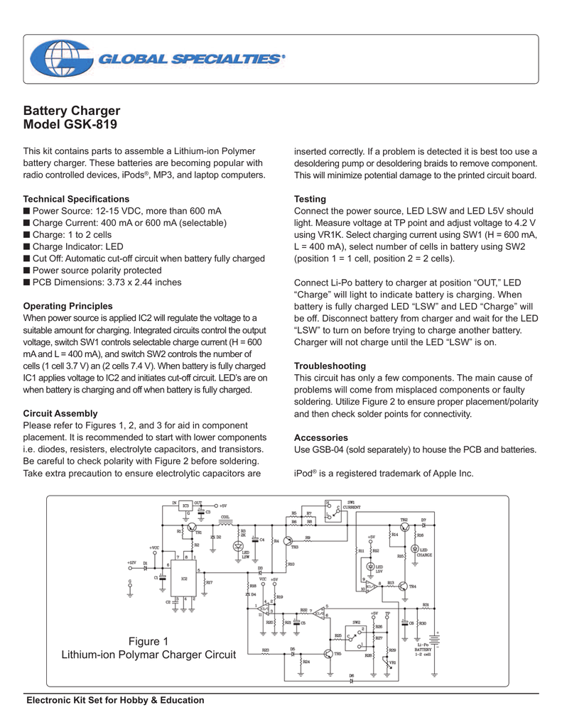 Datasheet Mouser Electronics Lithium Ion Poly Charger By Lm317 Electronic Circuits
