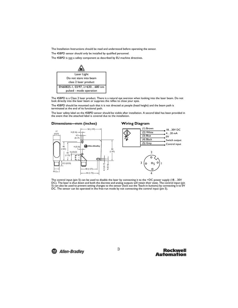 dimensions\u2014mm (inches) wiring diagram Wiring Schematics