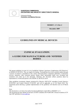 Guide meddev classification essay