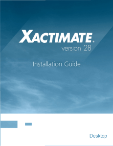 Xactimate 28 Installation Guide