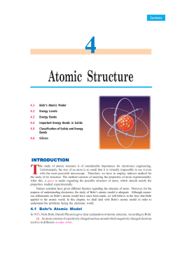 Atomic Structure - Talking Electronics