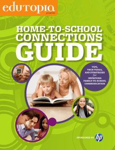 home-to-school connections
