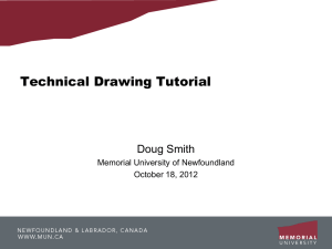 Technical Drawing Tutorial