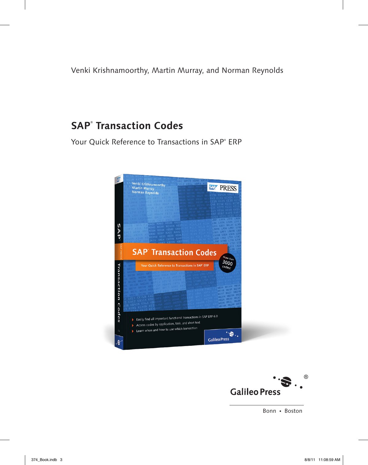SAP Transaction Codes - beck
