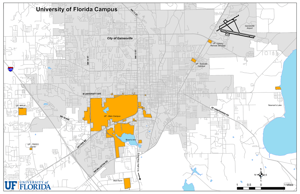University Of Florida Location Map.University Of Florida Campus