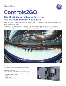 Controls2GO - GE Industrial Solutions