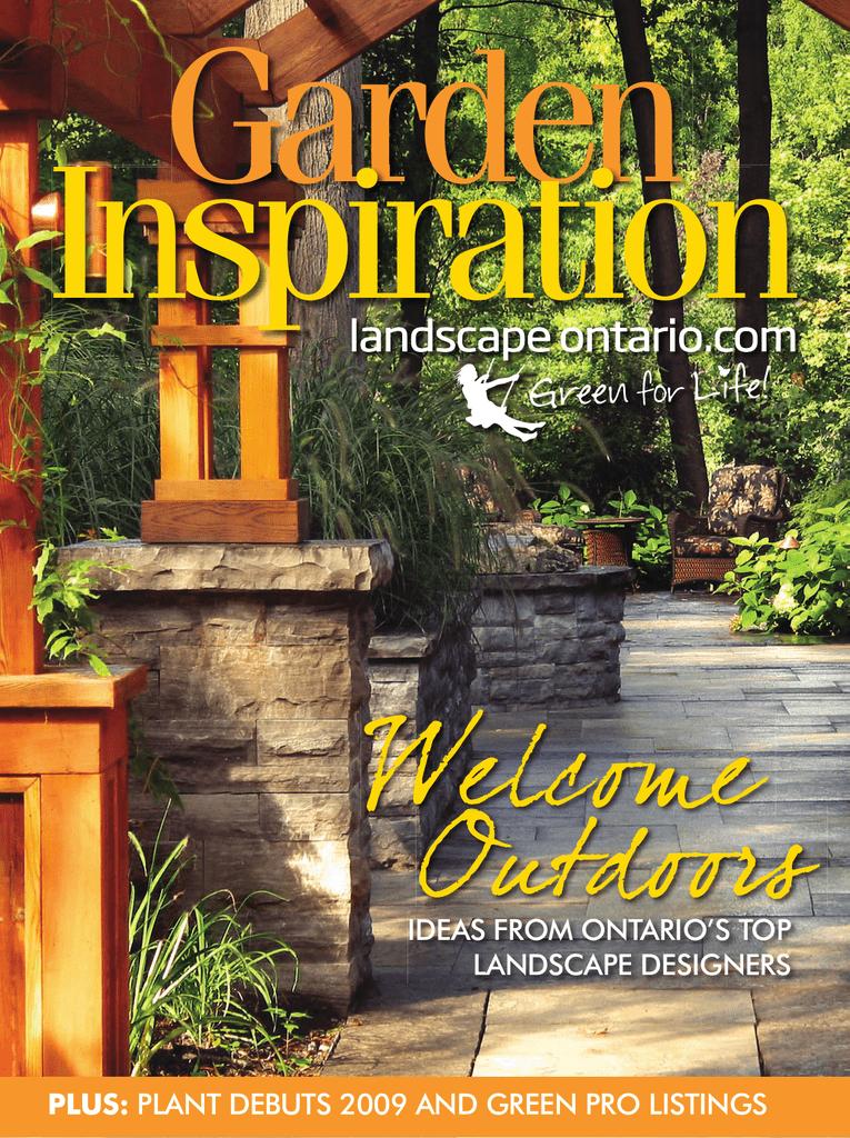 Ideas From Ontario S Top Landscape Designers Plus